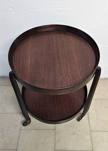 Carrello, portavivande, Uno, Osten, Kristiansson, Svezia, legno, palissandro, anni50, 1950s, sweden, design, midcentury,