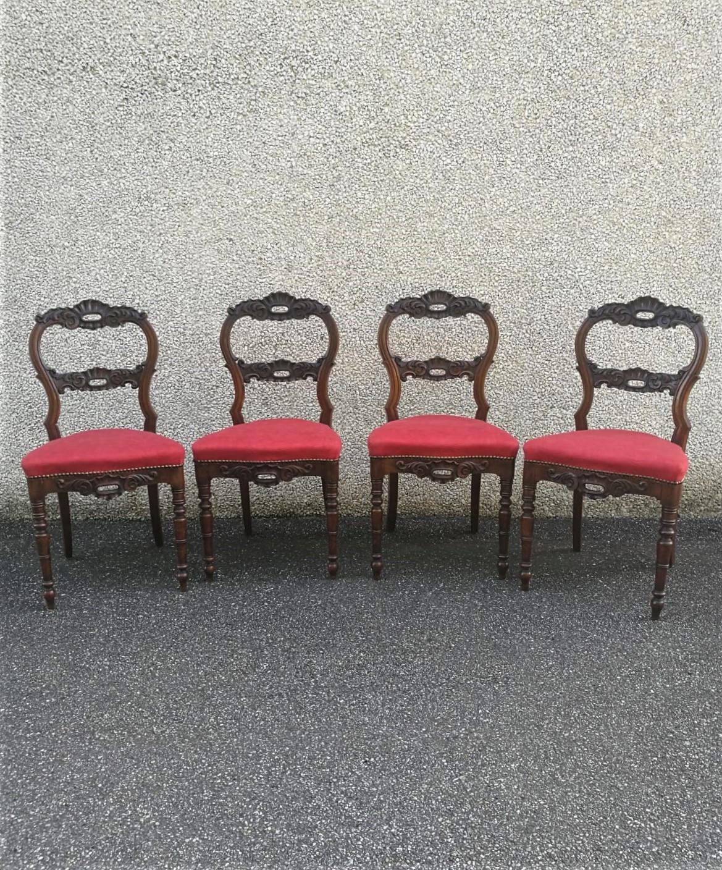 sedie, CarloX, inizi, 800, legno, noce, walnut, wood, chair, legno, intagliato, Italia, antiquariato, antiques,