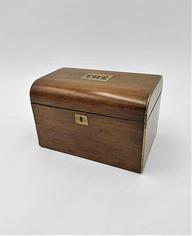 scatola, tè, the, box, legno, acero, wood, metallo, metal, ottone, brass, fine, '800, XIXsec, 1800s, Inghilterra, milano, antiquariato, antiques, collezionismo,